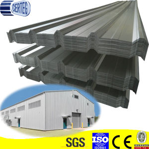 Trapezoid Grey Color Steel Roof Sheet pictures & photos