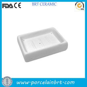 Traditional Unpainted Ceramic Soap Dish pictures & photos