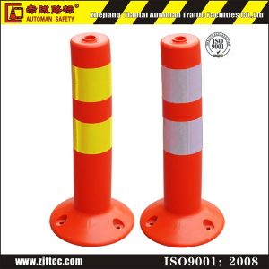 45cm, 75cm, 80cm, 100cm Orange Soft Flexible Post Sign (CC-E01) pictures & photos