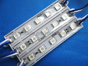 SMD 5050 5 LED Waterproof Module Blue pictures & photos