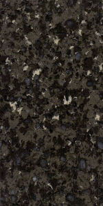 Black Granite Color Quartz Stone Countertop