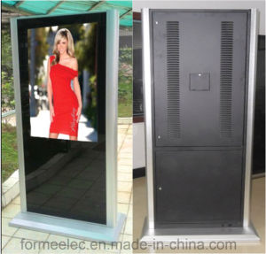 32 Inch Floor Stand Ad Player Advertising Machine Media Display pictures & photos