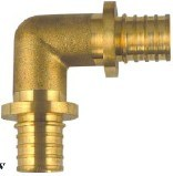 Pex / Sliding / Axial Press Fittings (M-11) - Equal Elbow pictures & photos