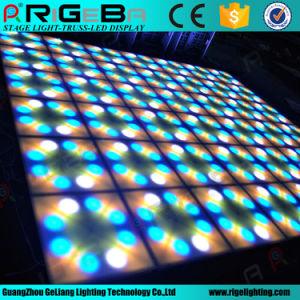 Wedding Stage DJ Lighting DMX Control Flower 60*60cm RGB LED Flower Dance Floor pictures & photos