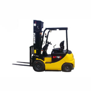 Double Mast Electric Forklift pictures & photos