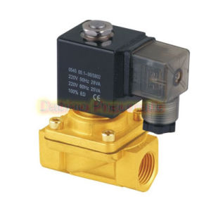 Yuken Type PU Series Direct Acting 2/2 Way Brass Solenoid Valve PU220
