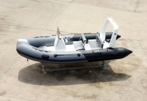 Aqualand 16feet 4.7m Fiberglass Rib Inflatable Boat/Fishing Boat (RIB470B) pictures & photos