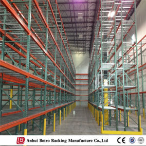 Steel Wire Mesh Decking Shelf for Warehouse Storage pictures & photos