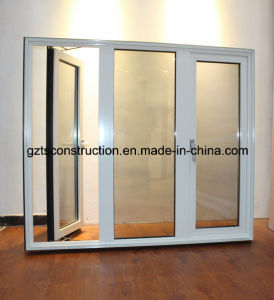 Customized French Aluminum Casement Window Aluminum French Window pictures & photos