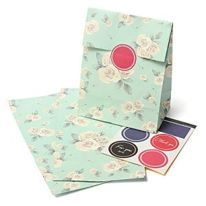 Flower Design Printing Paper Gift Bag Customized Design Printing Paper Gift Bag Part Paper Bag pictures & photos