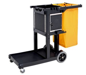 Janitorial Cart (with Cabinet)