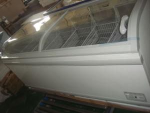 Supermarket Chest Glass Door Freezer pictures & photos