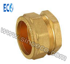 Brass Straight Male Coupling Pipe Fittings pictures & photos