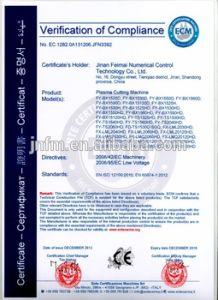 Cheap CNC Plasma Cutting Machine Fx-250lm3060HD pictures & photos