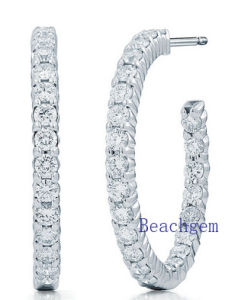 New Trendy 925 Sterling Silver Earrings Set 3A Cubic Zirconia pictures & photos