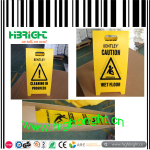 Corrugated Plastic Caution Board Warning Sign pictures & photos