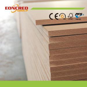 Plain MDF Board / Best Price Plain MDF 12mm 16mm 18mm pictures & photos