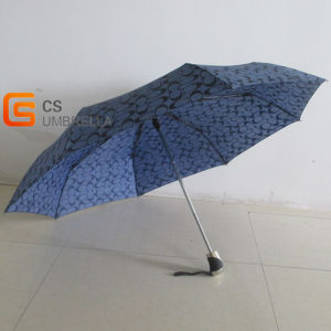 3 Folding Automatic Men′s Umbrella (YSN014) pictures & photos