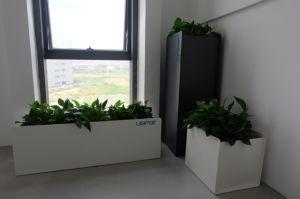 Uispair Modern Office Garden Decoration Square 100% Steel Garen Flower Pot pictures & photos