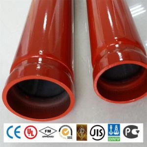 UL FM Certificate ERW Carbon Sprinkler Fire Protection Fighting Steel Pipe pictures & photos