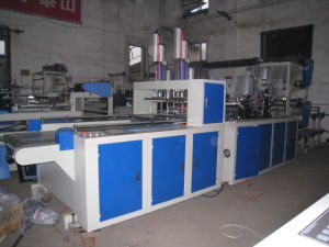 Automatic High-Speed T-Shirt Bag Making Machine (CE) pictures & photos