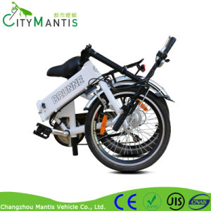 Hot Selling 20′′ Mini Folding Electric Bicycle Foldable E Bike pictures & photos