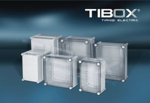 Plastic Enclosure with Stainless Steel Latch pictures & photos