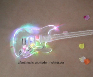 Afanti Transparent Crystal Guitar /LED Acrylic Electric Guitar (AAG-002) pictures & photos