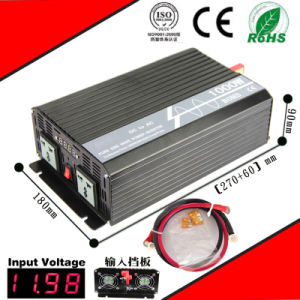 1200W DC-AC Inverter 12VDC or 24VDC to 110VAC or 220VAC Pure Sine Wave Inverter pictures & photos