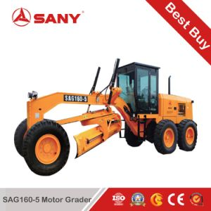 Sany Sag160-5 160HP Hydraulic Motor Grader with German Bosch Fuel Injection Leads pictures & photos