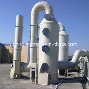 Gas Disposal Fiberglass Purification Tower Wast Gas Purify Machine pictures & photos