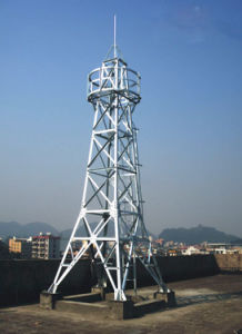 Steel Galvanized Free Stand Guard Tower pictures & photos
