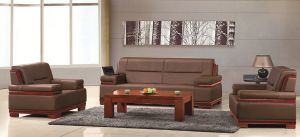 1+1+3 Sofa Standard Dimension Model Sofa (FOH-6612) pictures & photos