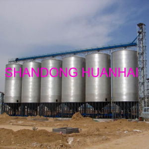 100ton 200 Ton 500 Ton 1000ton 2000ton Steel Grain Silo pictures & photos