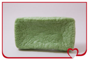 Hottest 100% Natural Konjac Sponge Green Tea Body Cleansing Bath Sponge pictures & photos
