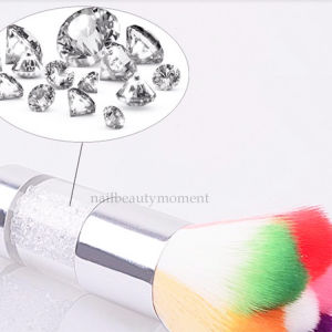 Nylon Nail Art Flower Shape Dust Cleaning Brush (B047) pictures & photos