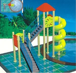 2017 Hot Sell Outdoor Water Park Fiber Glass Water Slide (JS5025) pictures & photos