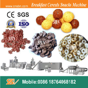 Puffed Corn Snacks Food Extruder pictures & photos