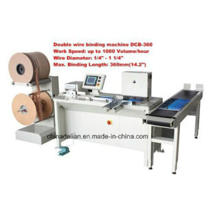 Double Wire Binding Machine (DCB-360) pictures & photos