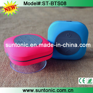 Factory Private Waterproof Bluetooth Speaker with Suction Cap