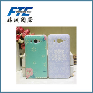 Embossed Pressed Pattern Slim Soft Cell Phone Shell for iPhone pictures & photos