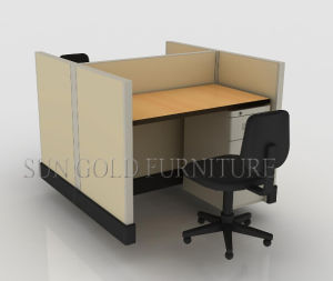 Modern 2 Person Office Workstation Office Furniture (sz-ws146) pictures & photos