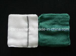 Sterile Absorbent Cotton Gauze Swab/ Gauze Pad pictures & photos