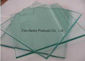 Order Large Protective Glass Table Top with Umbrella Hole pictures & photos