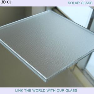 Tempered Glass in Low Iron Prismatic for Solar Glass pictures & photos