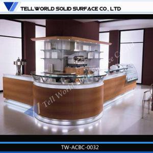 Modern Design Acrylic Restaurant Cafeteria Bar Counter pictures & photos