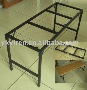 Wooden Steel Foldable Dining Table