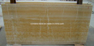 Honey Onyx Slabs for Floor Tiles