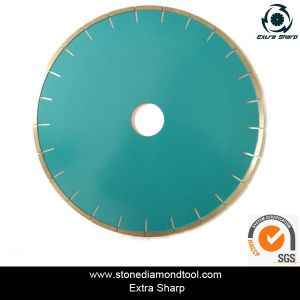 Silent Diamond Marble Saw Blade for Cutting Stone pictures & photos