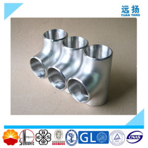 Top Quality 304 316L Stainless Steel Equal Tee